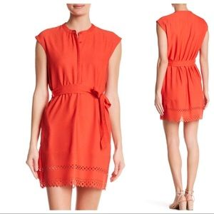 Collective Concepts Laser-Cut Hem Dress NWT